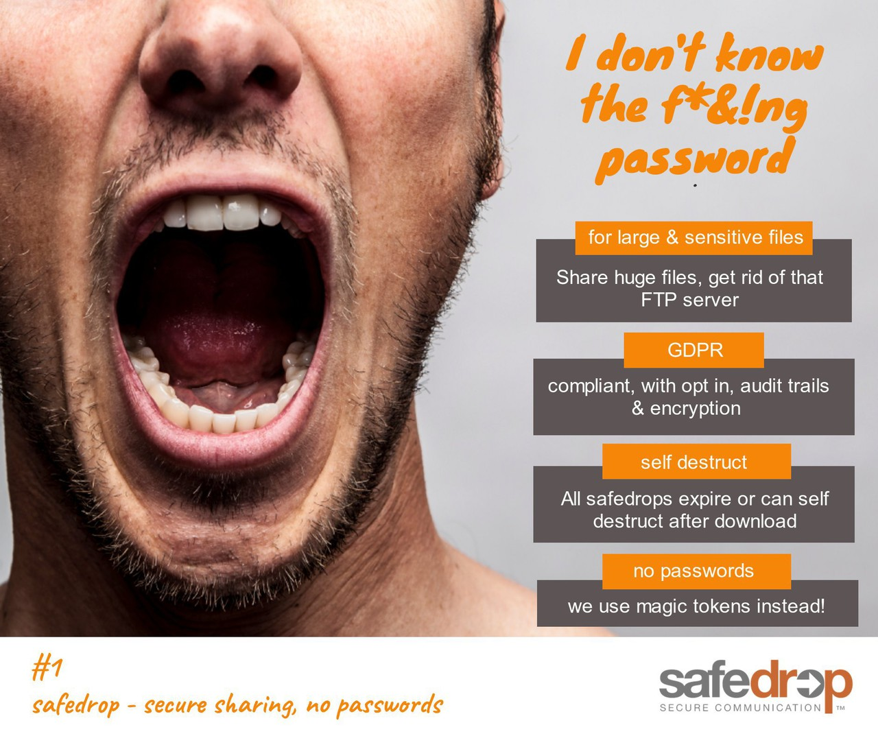 safedrop - no passwords